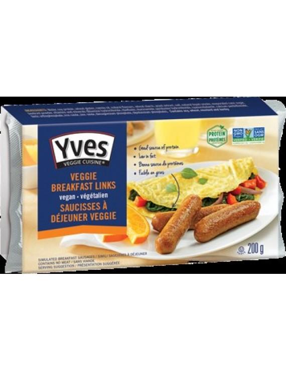 Veggie breakfast links