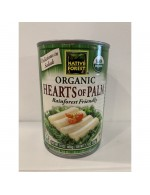 Organic hearts of palm