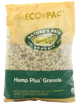 Hemp Plus whole grain granola cereal