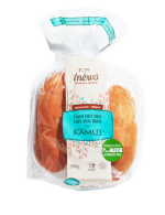 Hot-dog kamut organic breads