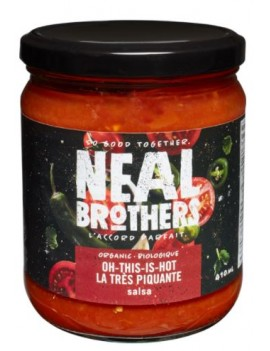 NB organicoh this is hot salsa