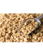Organic textured soy protein chunk