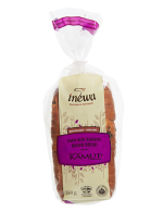 Kamut and raisin organic bread