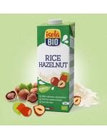 Rice hazelnut beverage