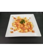 Tortellini with Tomato-Cream Sauce