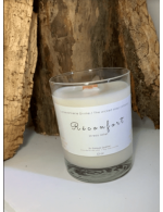 Soy wax candle in a glass vessel 12 oz