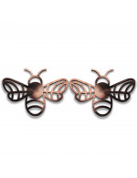 2-Pc Coasters or Candle Holders or Decorative Ornaments: Bees