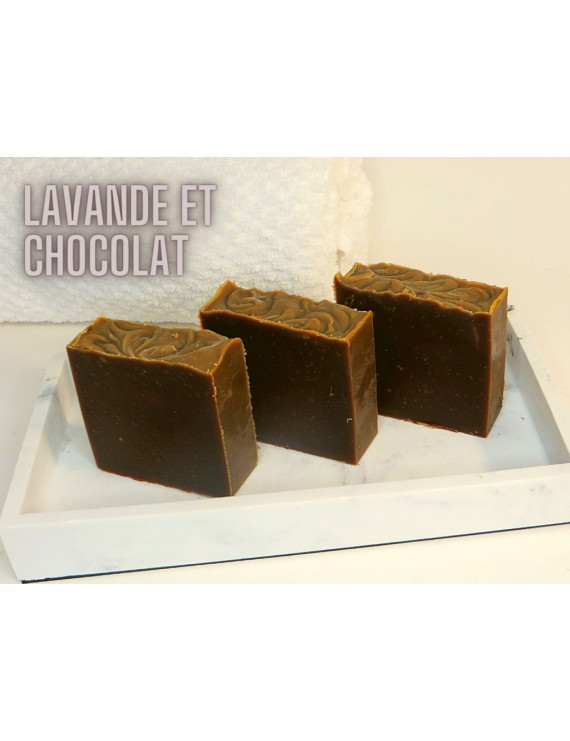 - Soap Lavender and chocolate