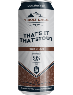 3 Lacs - That's It That'Stout - Milk Stout
