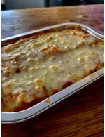 Meat sauce lasagna - individual portion