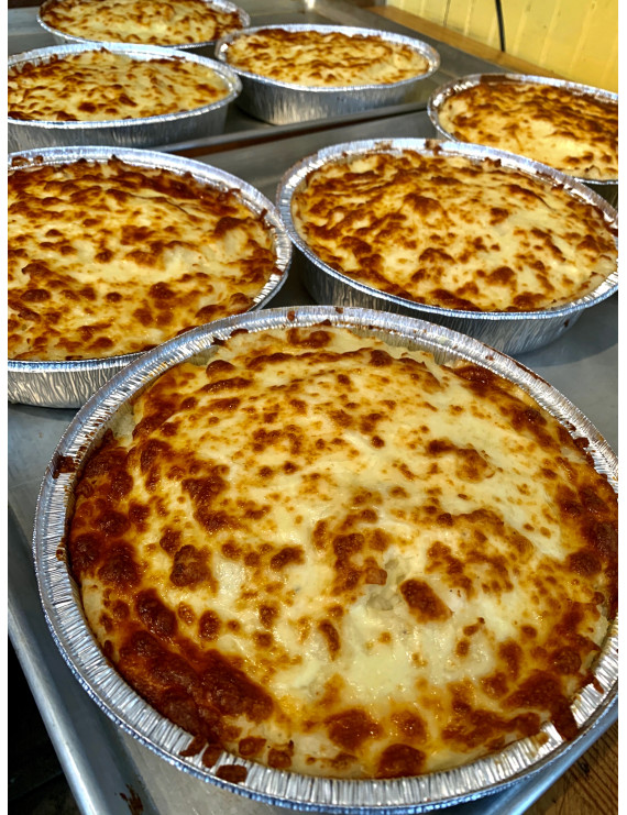 Shepherd's pie with cheese - individual portion