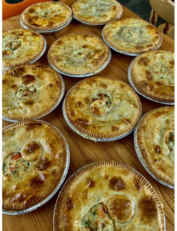 Chicken pie - individual portion
