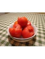 Tomatoes red frozen in bulk