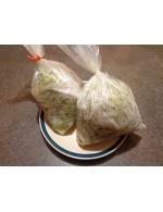 Zucchini grated frozen – organic