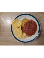 Homemade salsa – frozen