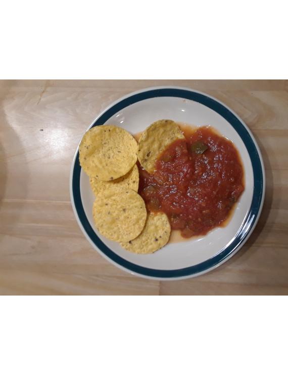 Homemade salsa – frozen