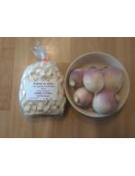 Prepared white turnip, frozen