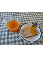 Fresh yellow tomato jam