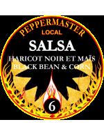 Peppermaster Local Salsa Black Bean & Corn # 6