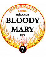 Peppermaster Local Cocktail Bloody Mary Végétalien # 7