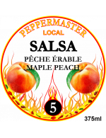 Peppermaster Local Maple Peach Salsa #5