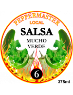 Peppermaster Local Salsa Mucho Verde #6