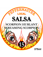 Peppermaster Local Salsa Screaming Scorpion # 15