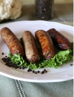 GLUTEN-FREE 3 Peppers Beef Sausage