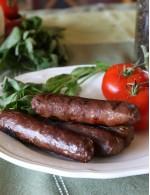 Tomato & Basil Beef Sausage