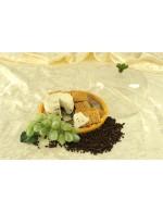 Semi-ripened Peppercorn Cheese Montefino goat cheese