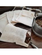 Reusable tea bags kit