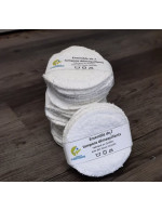 Washable makeup remover pads