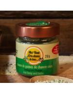 Raw hemp seeds  butter