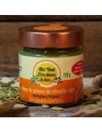 Raw pumpkin seeds butter